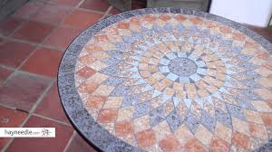 Tile Bistro Table Belham Living Solita Mosaic 30 In Round Outdoor Bistro Table