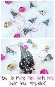 how to make mini party hats val event gal