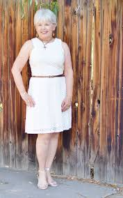 wearing your white dress with neutrals for women over 50
