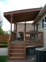 images about build a standing deck paver and backyard with roof