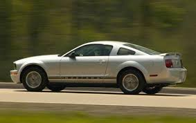 2007 ford mustang price used 2007 ford mustang coupe pricing for sale edmunds