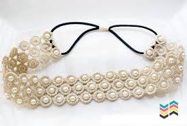 pearl headband palytte pearl lace headband palytte
