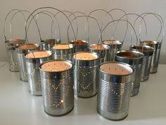 Tin Can Table Decorations Upcycled Tin Can Table Number Alphabet Lanterns Upcycled Pinterest