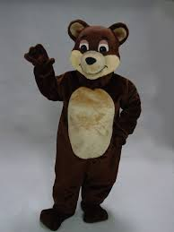 grizzly bear halloween costume buy brown grizzly bear mascot costume 21032 mascot costume shop