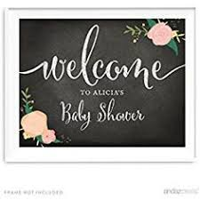 baby shower signs welcome baby shower sign chalkboard welcome sign printable