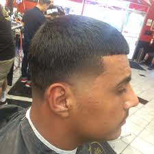 haircut done by cody taper with a line up yelp