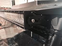 polaris rzr light bar rzr general forward mount led light bracket set