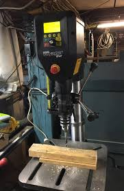 Fine Woodworking Drill Press Review by Nova Voyager Dvr Drill Press Applies Computer Precision To