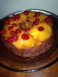 fresh pineapple upside down cake i