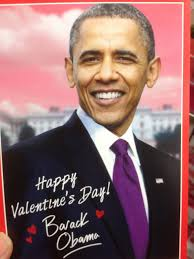 obama s day card barack obama valentines day card photographie par pippo13