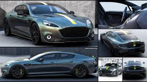 aston martin rapide shows its 2018 aston martin rapide amr top speed specifications