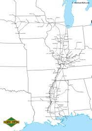 Metra Rail Map The Illinois Central Railroad