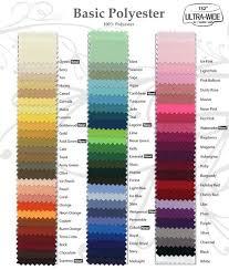 Table Linen Sizes - company message linens