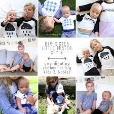 big mister style coordinating clothes for babies