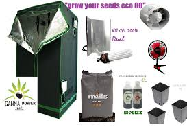 kit chambre de culture pas cher cannapower grow your seeds eco 80