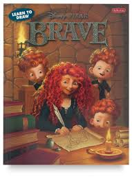 learn draw disney pixar brave blick art materials