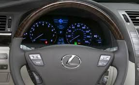 lexus ls 460 used toronto does your steering wheel airbag cover feel hollow clublexus