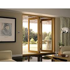 Patio Doors Folding Wickes Finished Oak Veneer Bi Fold Door Set Wickes Co Uk