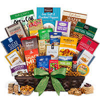 snack baskets gourmet snack gift baskets by gourmetgiftbaskets