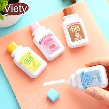 papeterie de bureau 1 x mignon lait correction bande matériel escolar kawaii papeterie