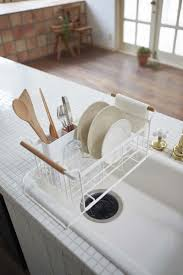 Kitchen Cabinet Plate Rack by Best 25 Dish Drying Racks Ideas On Pinterest Traditional Dish