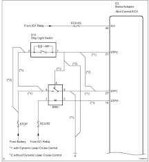 toyota sienna service manual open in stop light switch circuit