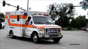 ambulance 23 denver paramedics manual siren hi lo youtube