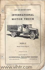 book library veteran international harvester truck registry