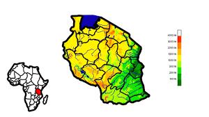 Tanzania Map Creating Elevation Map Of Tanzania Youtube