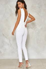 lace up jumpsuit high seas lace up jumpsuit shop clothes at gal