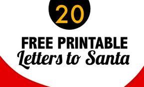 printable santa letters to santa 20 free printable letters to santa templates spaceships and laser