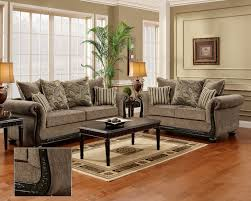 Livingroom Furniture Sets Dream Java Chenille Sofa U0026 Love Seat Living Room Furniture Set