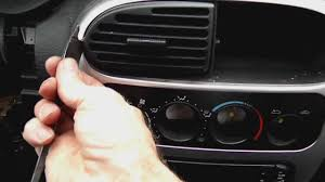 professional removal instruction for a 2004 2005 dodge neon radio