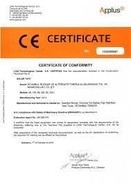 certificates istanbul energy