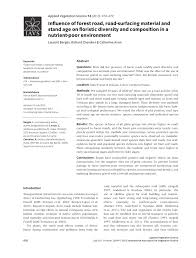 bureau des hypoth ues draguignan effects of soil surface disturbances pdf available