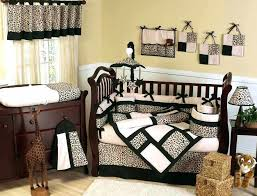 Leopard Crib Bedding Spectacular Baby Animals For Nursery Bedding Pictures Remarkable
