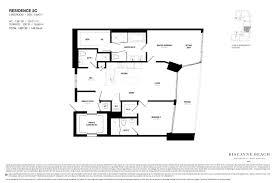 Condominium Floor Plans Biscayne Beach Condo Floor Plans Biscayne Beach Luxury Condos