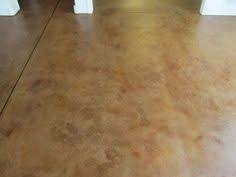 Basement Floor Stain by Basement Floor Concrete Resurfaced And Stained No Need For Sub