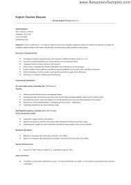 Fresher Teacher Resume Sample Sample Lecturer Resume Fresher Lecturer Resume Templates 5 Free