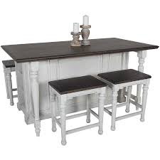 dining sets afw bourbon county kitchen island with drop leaf