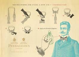 instructions for tying a bow tie penhaligon u0027s