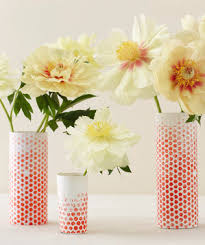 Log Vases 15 Minute Diy Centerpieces Real Simple
