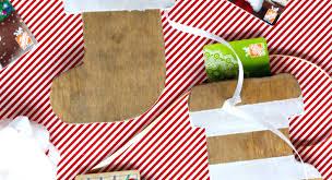 diy stocking gift card holder love u0026 renovations