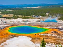 Map Of Yellowstone National Park What Would Happen If Yellowstone Supervolcano Erupted Business