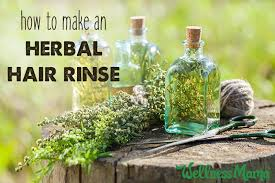 how to make hair strong diy herbal hair rinse for shiny and strong hair wellness