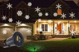 Landscape Laser Light Snowflake Laser Projector Landscape Laser Light