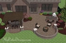 Patio Designs With Pergola by Corner Patio Designs For 4 U0027