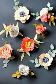 best 25 felt flower tutorial ideas on felt roses