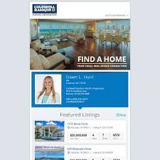 create a luxury real estate newsletter template for hawaii team