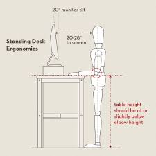 L Shaped Desk Dimensions by Standing Height L Shaped Desk Best Home Furniture Decoration